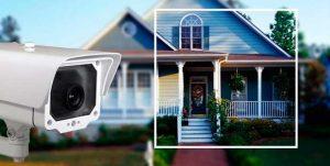 Наружная IP камера видеонаблюдения для дачи
